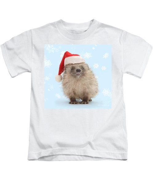 Santa's Prickly Pal Kids T-Shirt