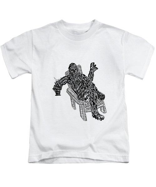Sasquatch Cocktail Kids T-Shirt