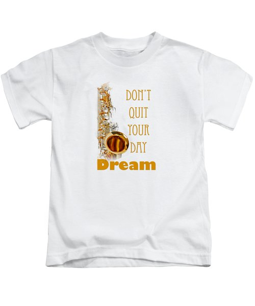 Saxophone Fine Art Photographs Art Prints 5019.02 Kids T-Shirt