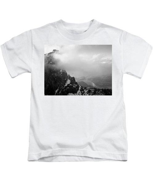 Schaffberg Cliff Face Kids T-Shirt