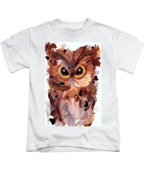 Screech Owl Kids T-Shirt