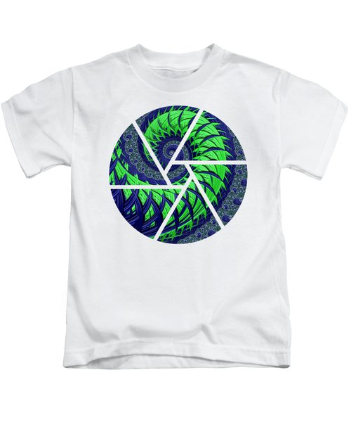 Seahawks Spiral Kids T-Shirt