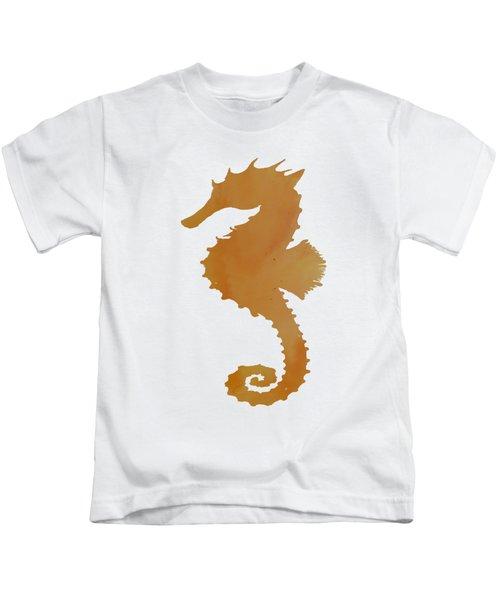Seahorse Kids T-Shirt by Mordax Furittus