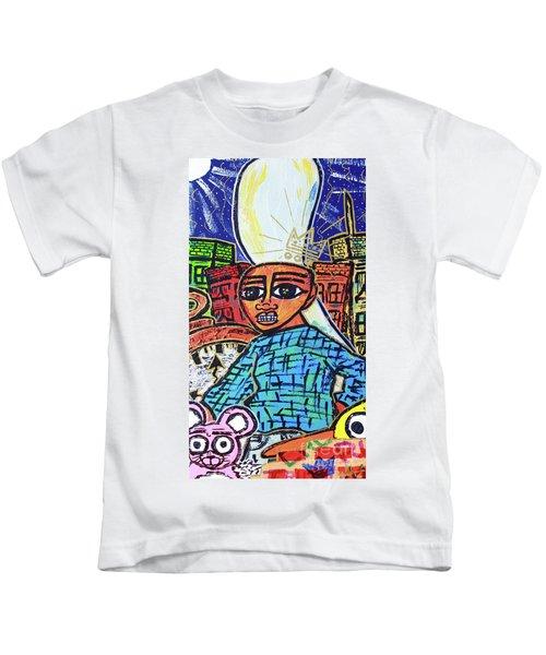 Searching... Hire Self Kids T-Shirt