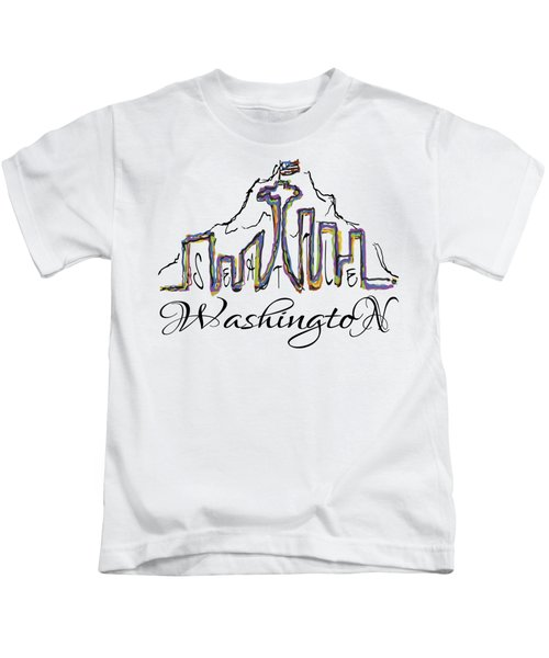 Seattle Kids T-Shirt by Devon LeBoutillier