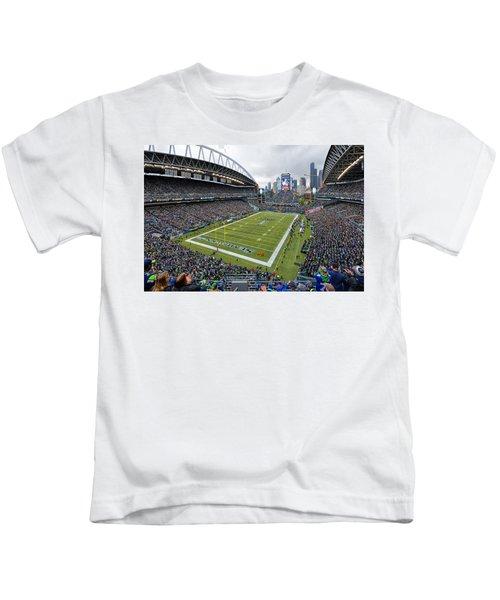 Seattle Seahawks Centurylink Field Kids T-Shirt
