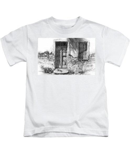 Secret Of The Closed Doors Kids T-Shirt
