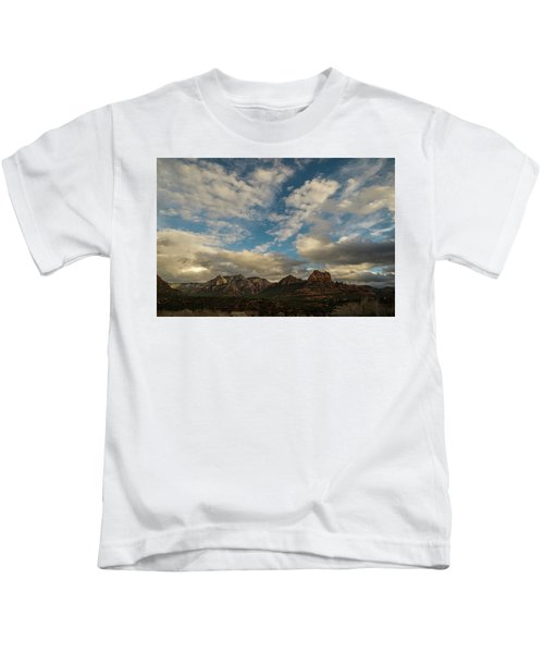 Sedona Arizona Redrock Country Landscape Fx1 Kids T-Shirt by David Haskett