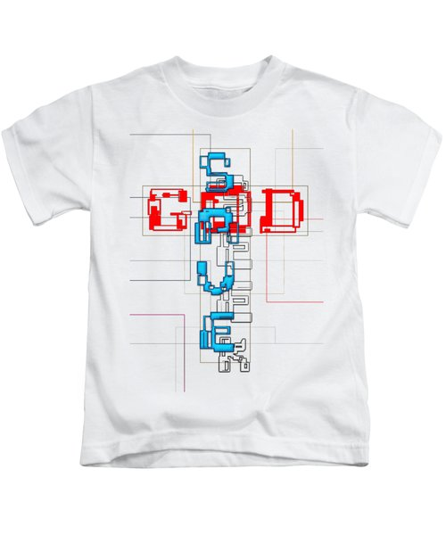 Seek, The Saving God Kids T-Shirt