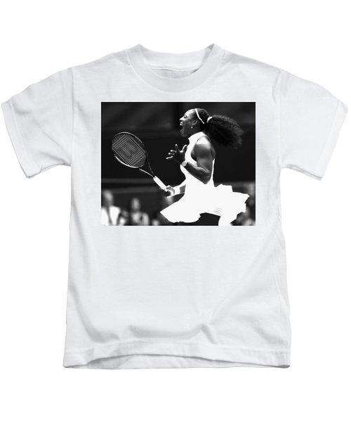 Serena Williams Making Magic Happen Kids T-Shirt