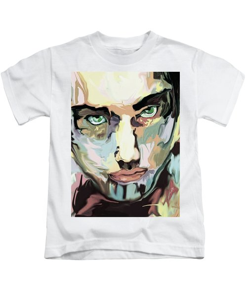 Serious Face Kids T-Shirt