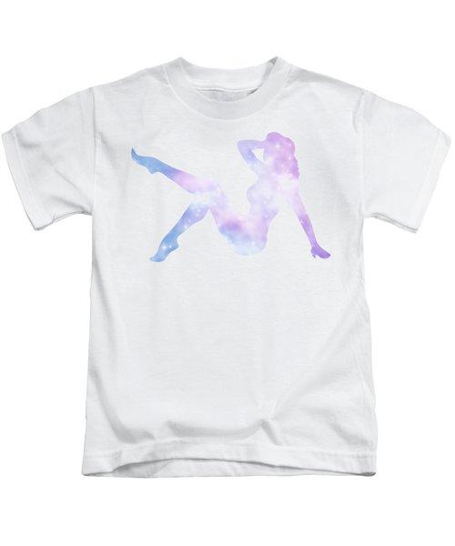 Sexy Silhouette Lady Kids T-Shirt