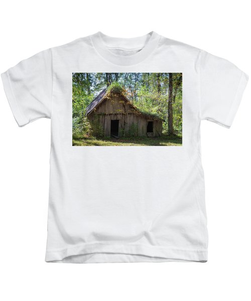 Shack In The Woods Kids T-Shirt