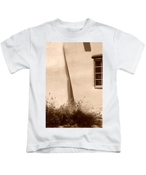 Shadows And Light In Santa Fe Kids T-Shirt