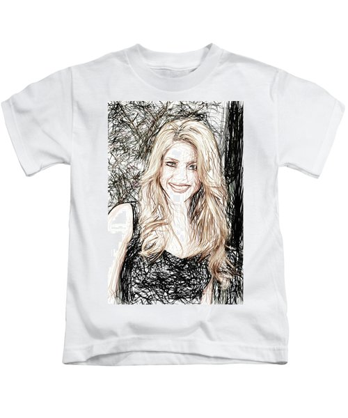 Shakira Kids T-Shirt by Raina Shah