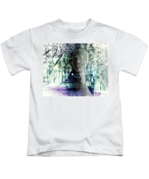 She Thought She's Never Be Alone Again Kids T-Shirt