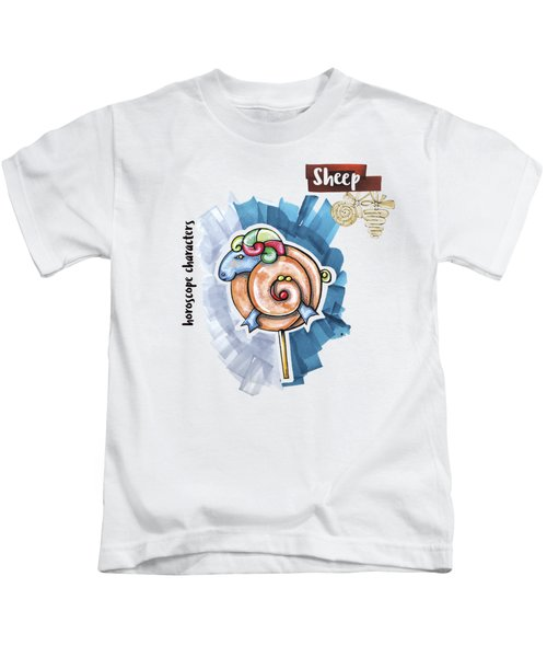 Sheep Horoscope Kids T-Shirt