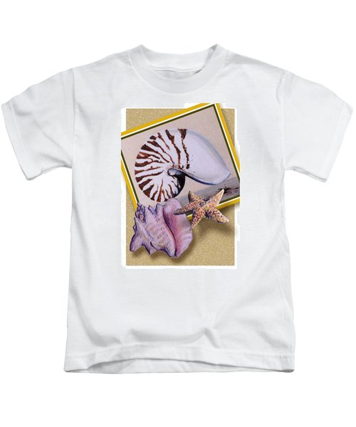 Shell Collage Kids T-Shirt