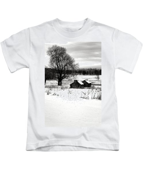 Shelters In The Snow Kids T-Shirt