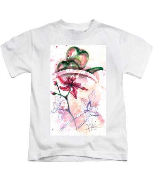 Shiraz Orchid II Kids T-Shirt