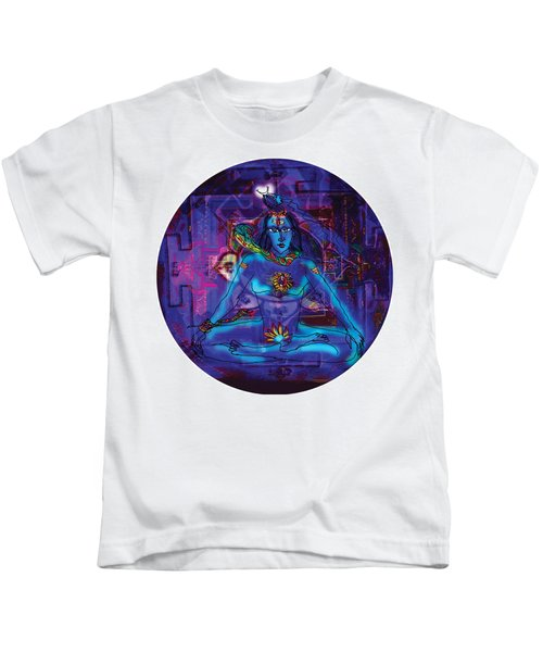 Shiva In Meditation Kids T-Shirt