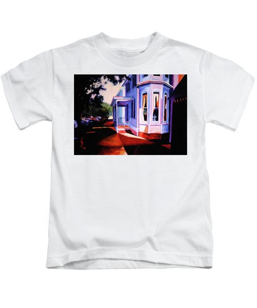 Side Street - Lambertville Kids T-Shirt