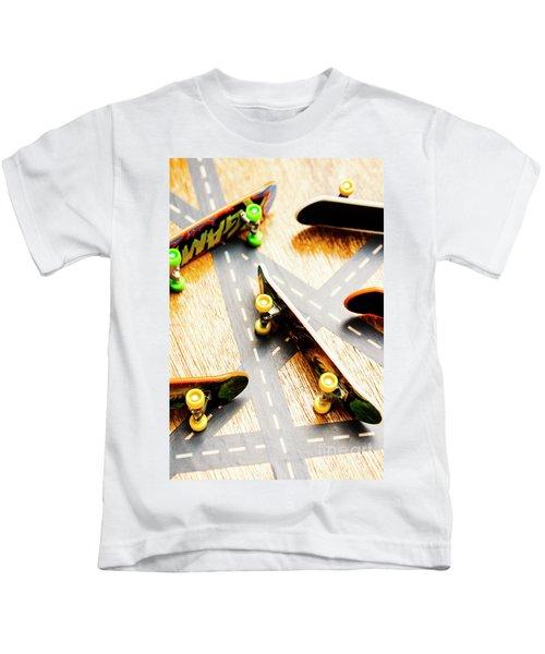 Side Streets Of Skate Kids T-Shirt