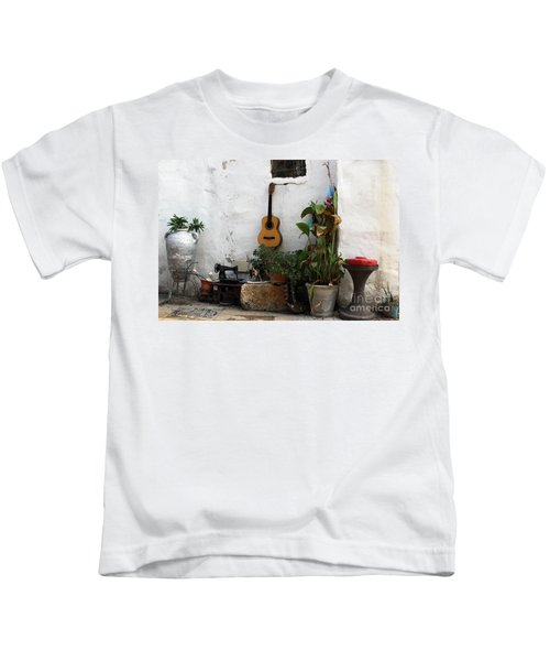 Sidewalk Collage #2 Kids T-Shirt