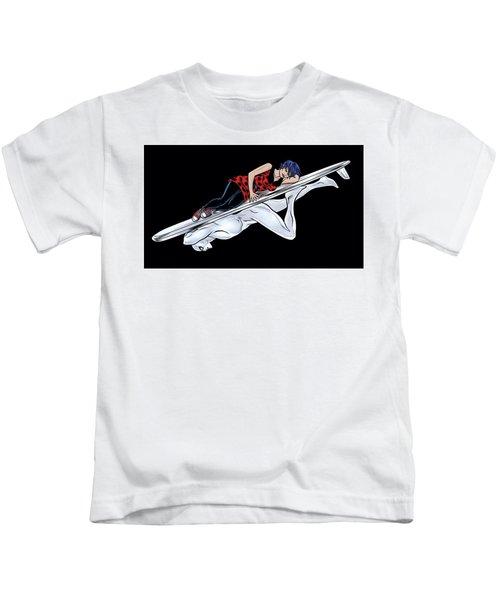 Silver Surfer Kids T-Shirt