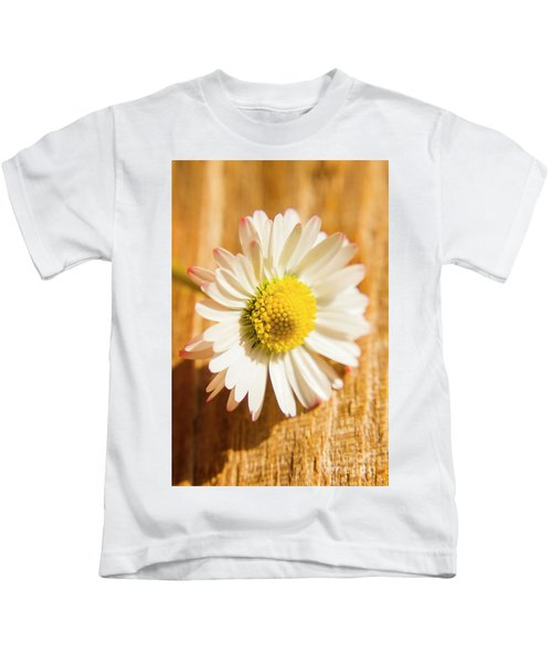 Simple Camomile  In Sunlight Kids T-Shirt