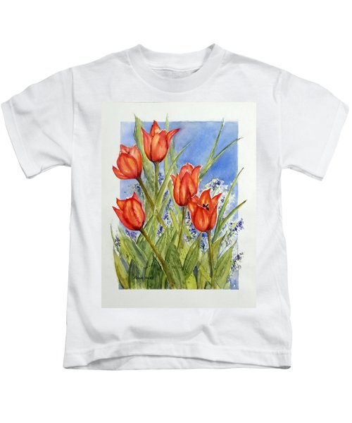 Simply Tulips Kids T-Shirt