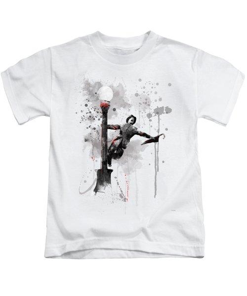 Singing In The Rain Kids T-Shirt