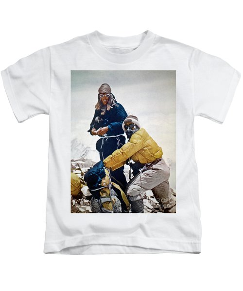 Sir Edmund Hillary Kids T-Shirt