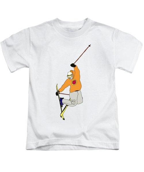 Ski Jumping Kids T-Shirt