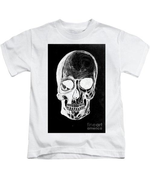 Skull Study 3 Kids T-Shirt