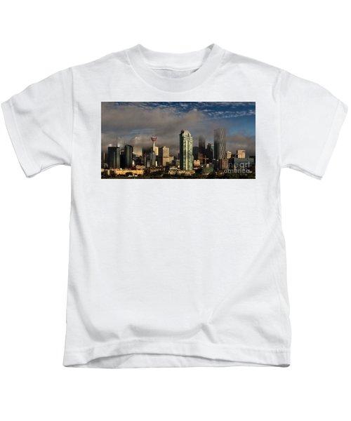 Skyline Fog Kids T-Shirt