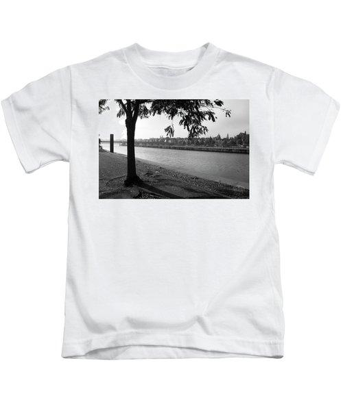 Skyline Maastricht Kids T-Shirt by Nop Briex