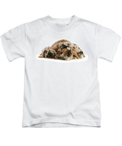 Sleep In Camouflage Kids T-Shirt