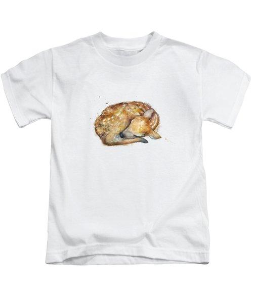 Sleeping Fawn Kids T-Shirt