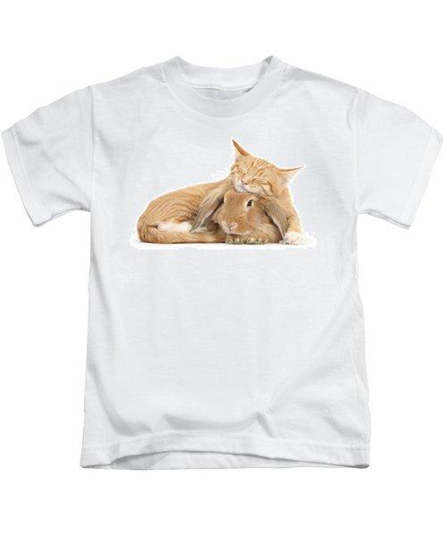 Sleeping On Bun Kids T-Shirt