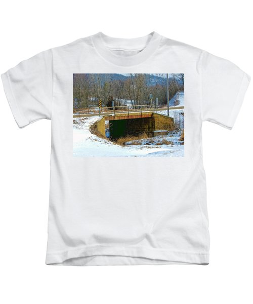Sliding Into Home Kids T-Shirt