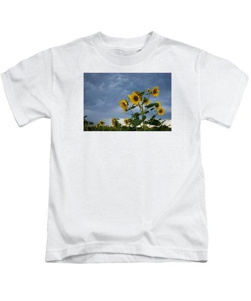 Small Sunflowers Kids T-Shirt