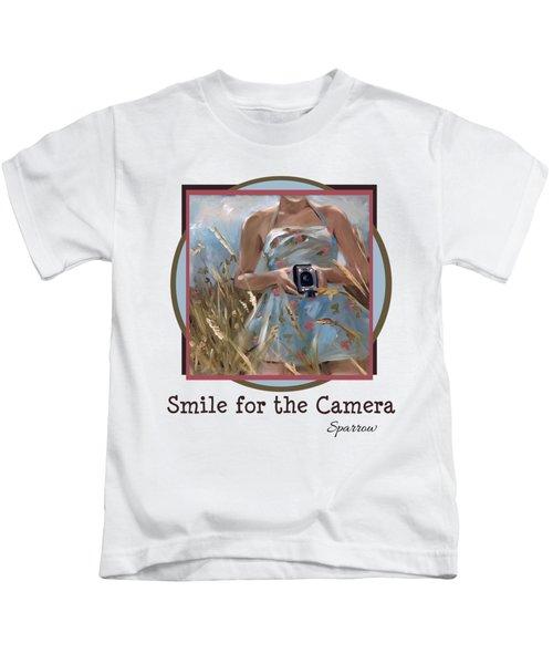 Smile For The Camer Kids T-Shirt