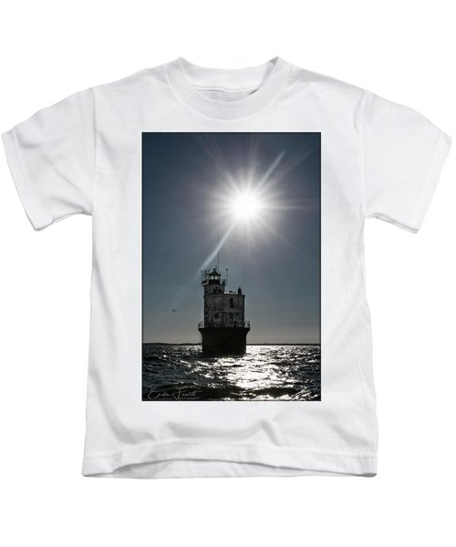 Smith Point Lighthouse Kids T-Shirt
