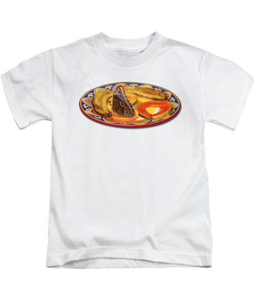 Snacking Butterfly Kids T-Shirt