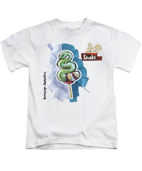 Snake Horoscope Kids T-Shirt