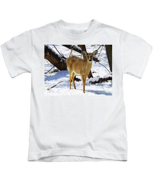 Snow Angel Kids T-Shirt