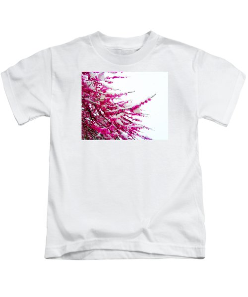 Snow Blossoms Kids T-Shirt