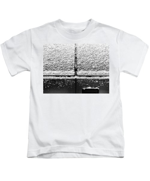 Snow Covered Rear Kids T-Shirt