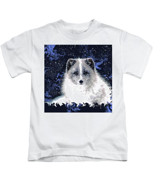 Snow Fox Kids T-Shirt